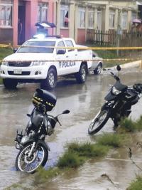 El cuerpo de Wilson Leiva Cerdas quedó en la sala de su casa