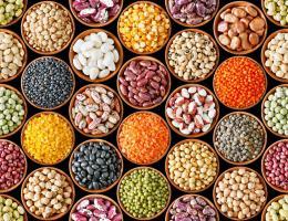 Existe una gran  variedad de legumbres  para que haga su platillo favorito