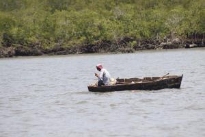 La recuperación de las zonas de pesca, como en Puerto Níspero, es uno de los objetivos de la Red del Golfo para llevar desarrollo a sus comunidades