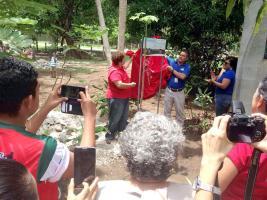 El proyecto lo inauguraron representantes del Ministerio de Salud, Idespo y vecinos de la comunidad
