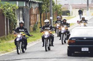 Fuerza Pública cuenta con unidades especializadas para realizar distintas operaciones en motocicleta
