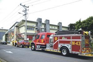 Los bomberos llegaron pero la situación ya estaba controlada