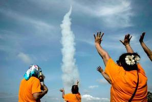 Diversos rituales realizan en Asia para que les llueva